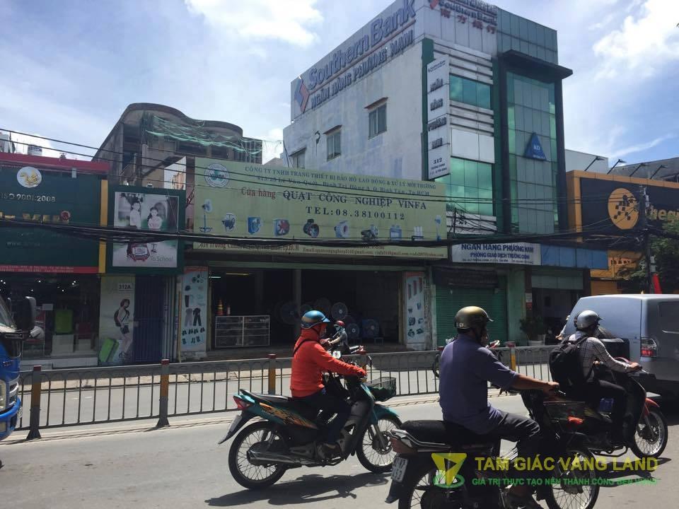Cho thuê nhà mặt tiền đường Trường Chinh, Phường 13, Quận Tân Bình, DT 10.5x25m, 1 trệt 2 lầu, Giá 150 triệu/tháng