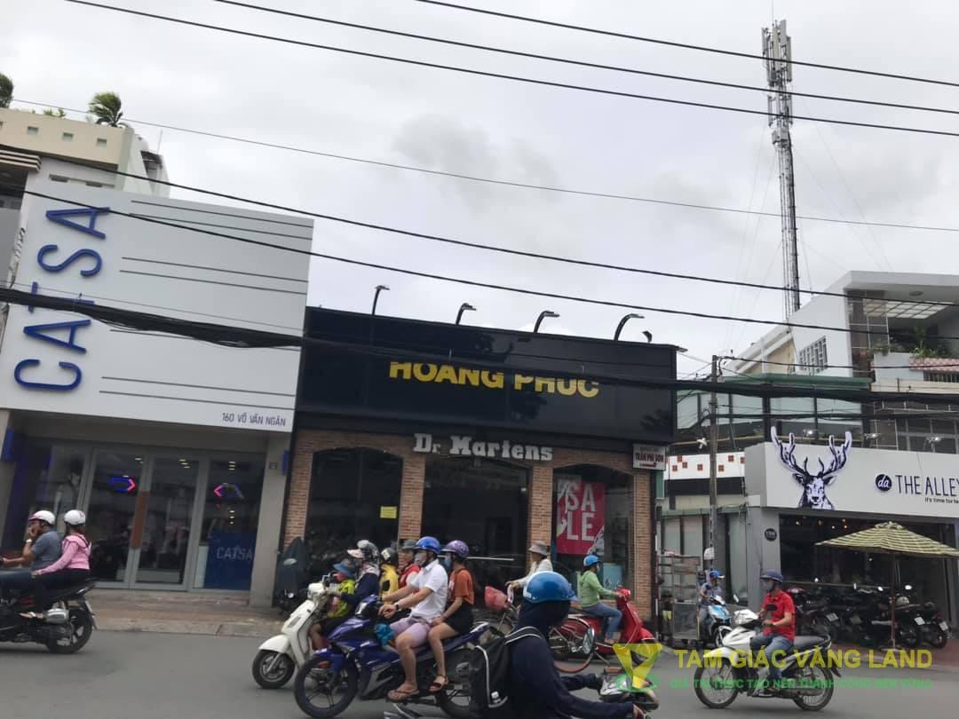 Cho thuê nhà mặt tiền đường Võ Văn Ngân, Phường Bình Thọ, Quận Thủ Đức, DT 7x11m, 1 trệt, Giá 90 triệu/tháng