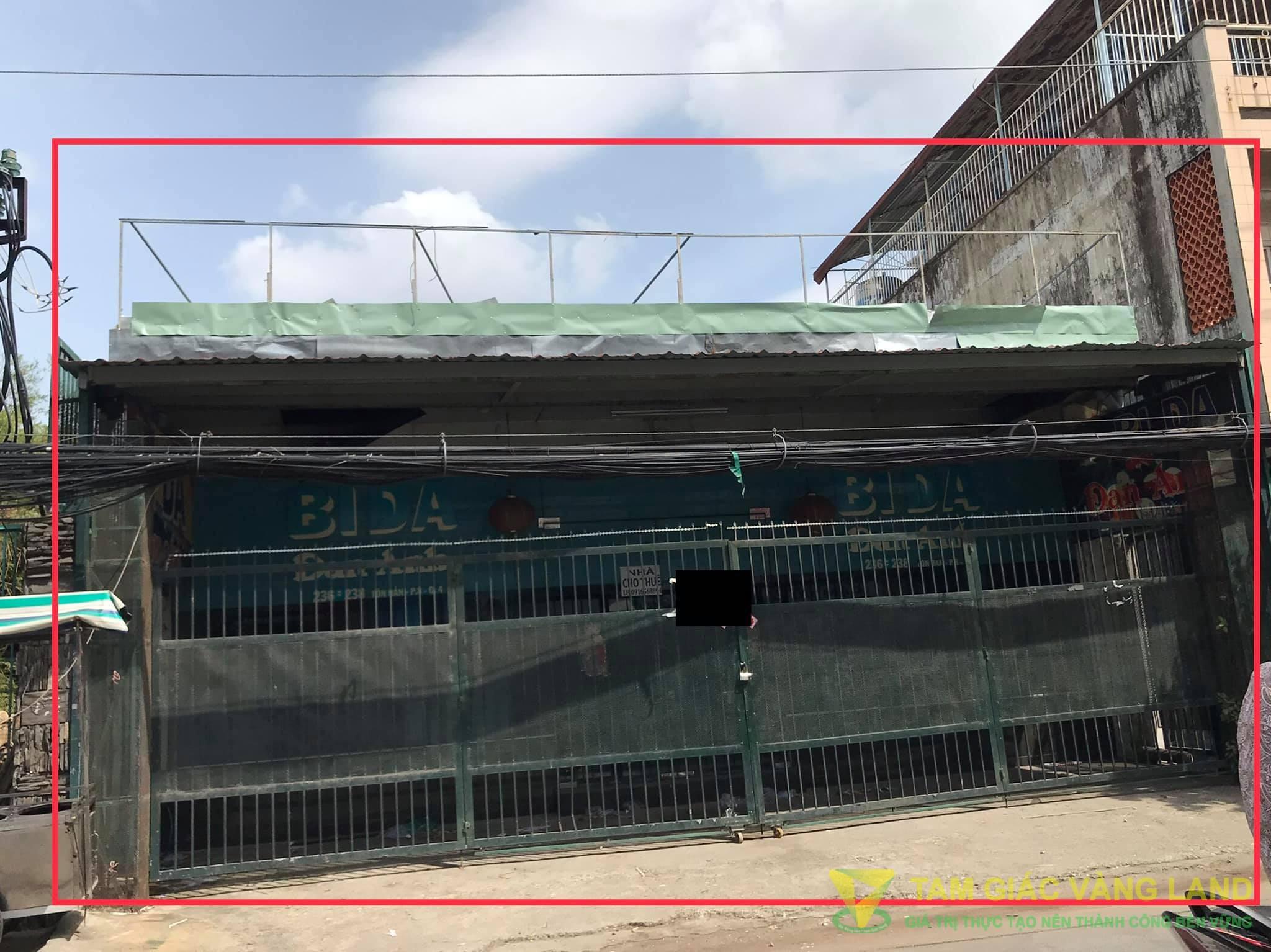 Cho thuê nhà mặt tiền đường Tôn Đản, Phường 8, Quận 4, DT 9x30m, 1 trệt, Giá 90 triệu/tháng