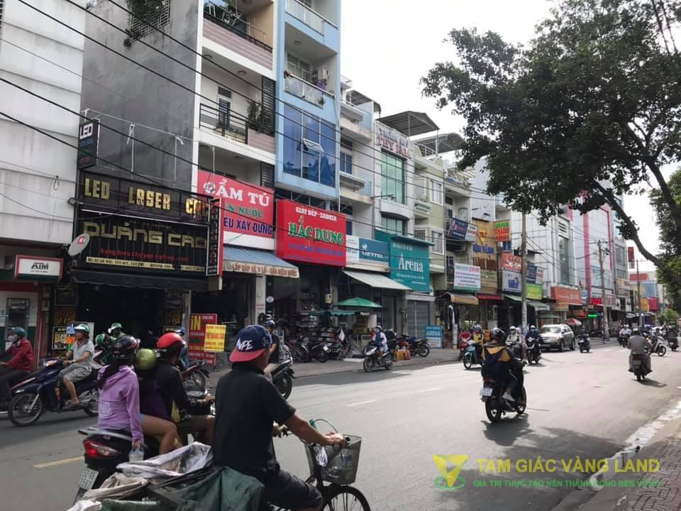 Cho thuê nhà mặt tiền đường Gò Dầu, Phường Tân Quý, Quận Tân Phú, DT 17x6.7m, 1 trệt 3 lầu, Giá 150 triệu/tháng