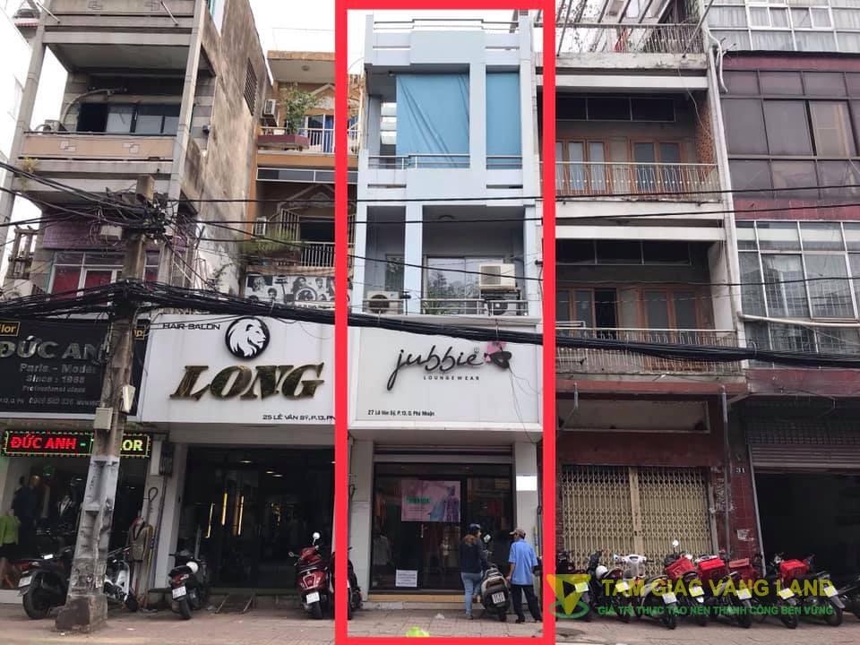 Cho thuê nhà mặt tiền đường Lê Văn Sỹ, Phường 13, Quận Phú Nhuận, DT 3.7x16.5m, 1 trệt 1 lửng 2 lầu, Giá 3500 usd/tháng