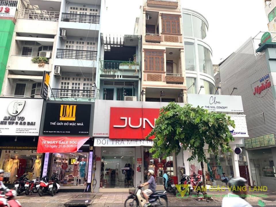 Cho thuê nhà mặt tiền đường Nguyễn Đình Chiểu, Phường 2, Quận 3, DT 6x14m, 1 trệt 2 lầu, Giá 110 triệu/tháng