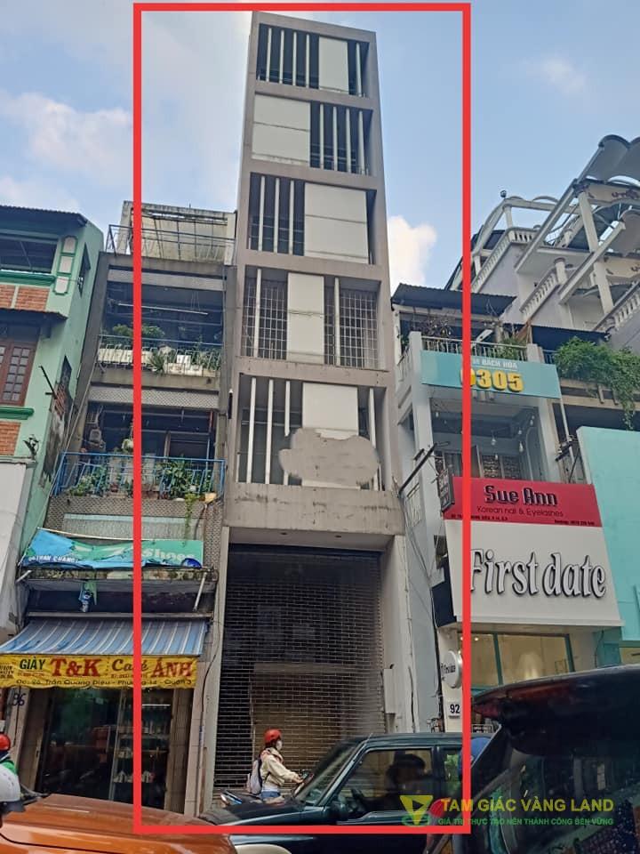Cho thuê nhà mặt tiền đường Trần Quang Diệu, Phường 14, Quận 3, DT 4x20m, 1 hầm 1 trệt 1 lửng 5 lầu, Giá 4500 usd/tháng