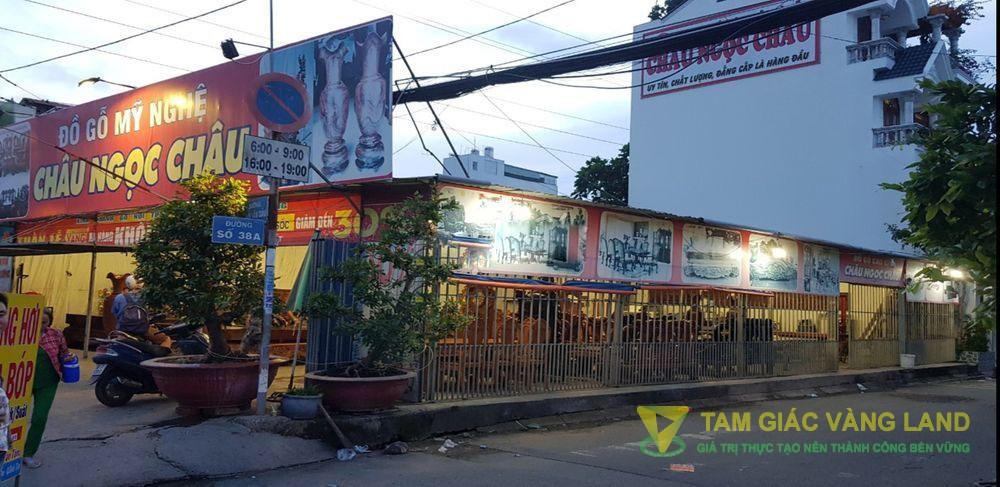 Cho thuê nhà mặt tiền đường Đường Số 7, Phường Tân Tạo, Quận Bình Tân, DT 12x30m, Tiền chế, Giá 160 triệu/tháng