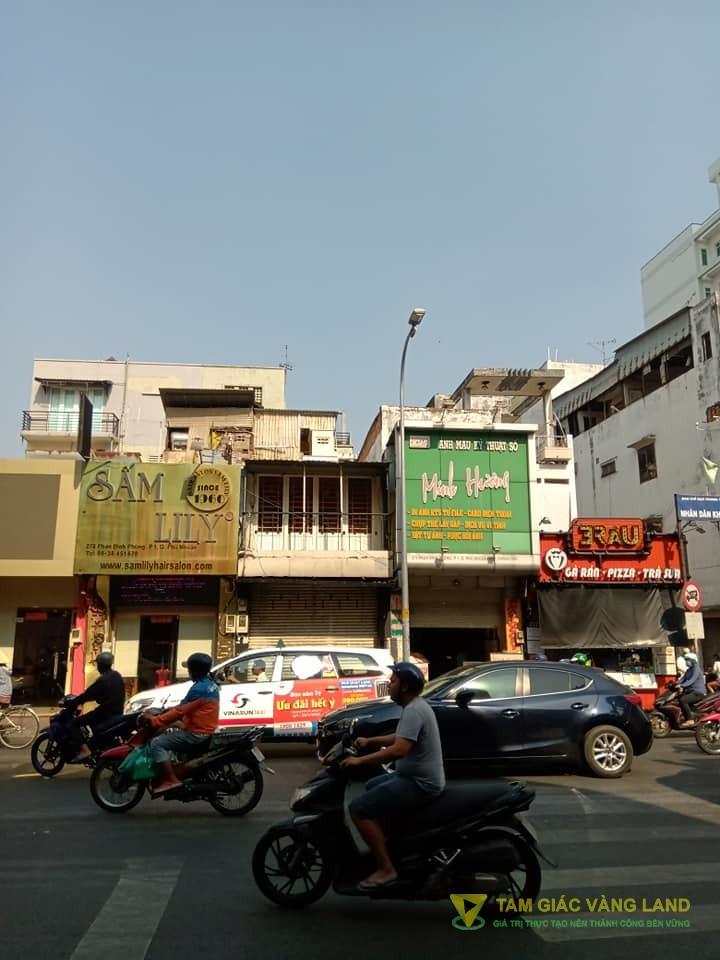 Cho thuê nhà mặt tiền đường Phan Đình Phùng, Phường 1, Quận Phú Nhuận, DT 3.5x17m, trệt, 2 lầu, Giá 37 triệu/tháng