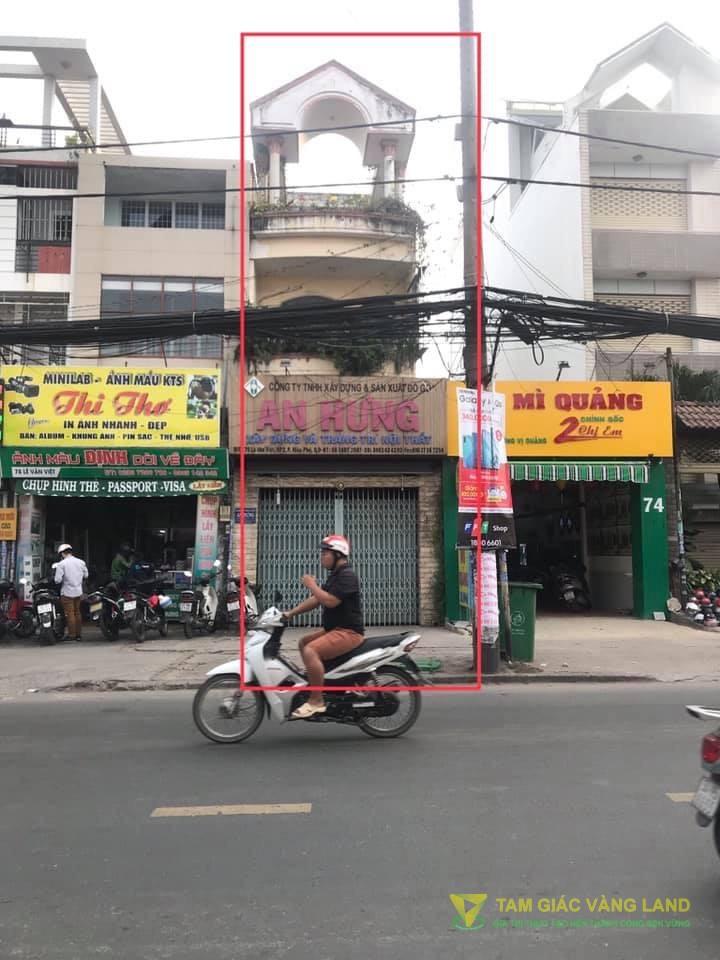 Cho thuê nhà mặt tiền đường Lê Văn Việt, Phường Hiệp Phú, Quận 9, DT 4.2x25m, 1 trệt 3 lầu, Giá 45 triệu/tháng