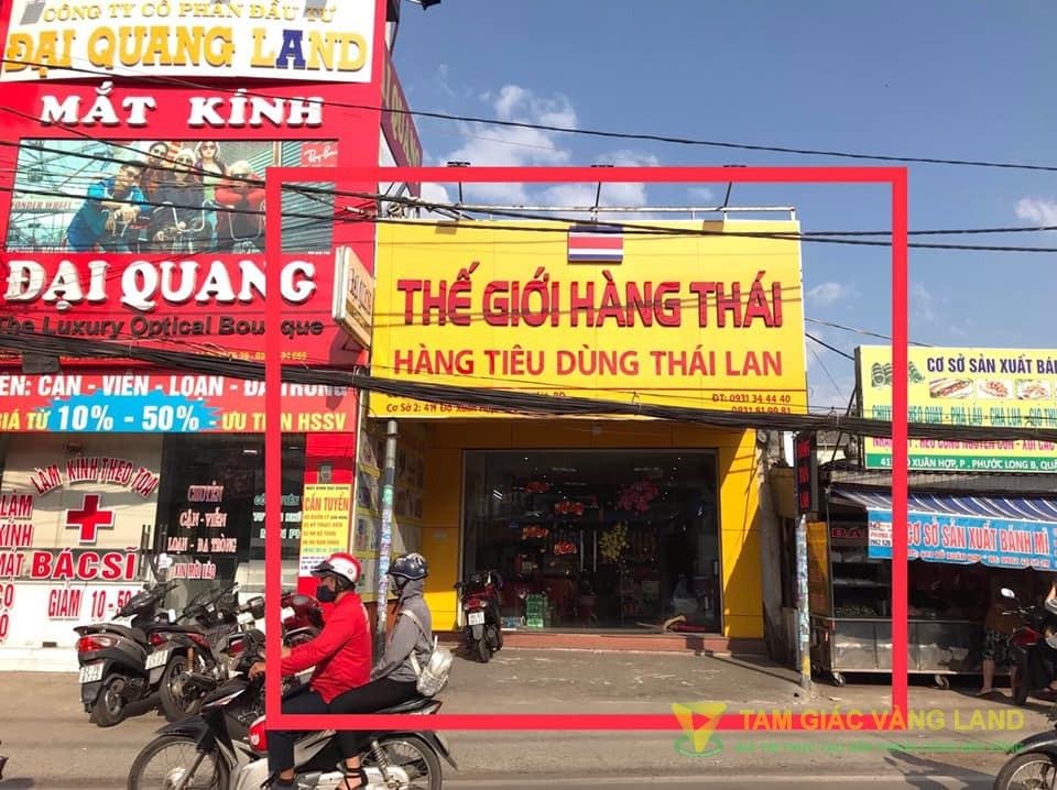 Cho thuê nhà mặt tiền đường Đỗ Xuân Hợp, Phường Phước Long B, Quận 9, DT 5x20m, cấp 4, Giá 40 triệu/tháng