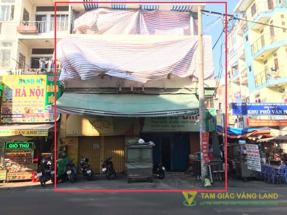 Cho thuê nhà mặt tiền đường Nguyễn Thiện Thuật, Phường 3, Quận 3, DT 7x6m, 1 trệt 2 lầu1, Giá 50 triệu/tháng
