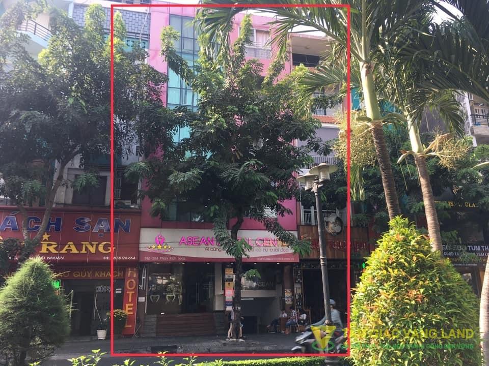 Cho thuê nhà mặt tiền đường Phan Đình Phùng, Phường 2, Quận Phú Nhuận, DT 8x16m, 1 hầm, 1 trệt, 1 lửng, 3 lầu, ST., Giá 9500 usd/tháng