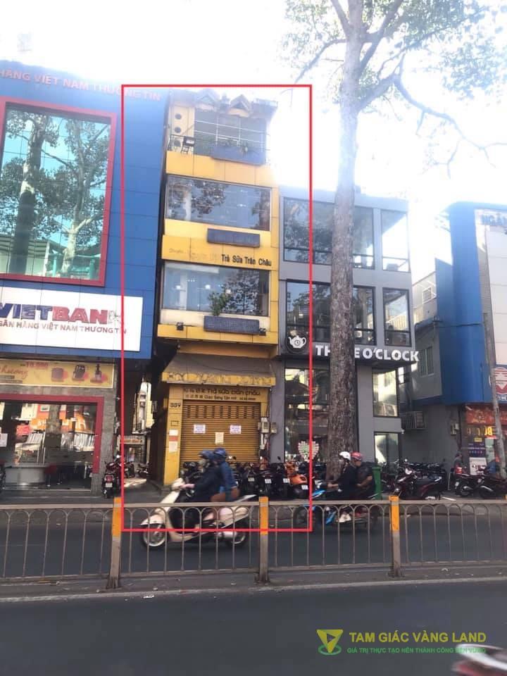 Cho thuê nhà mặt tiền đường Nguyễn Tri Phương, Phường 5, Quận 10, DT 4x16m, 1 trệt 3 lầu, Giá 3300 usd/tháng