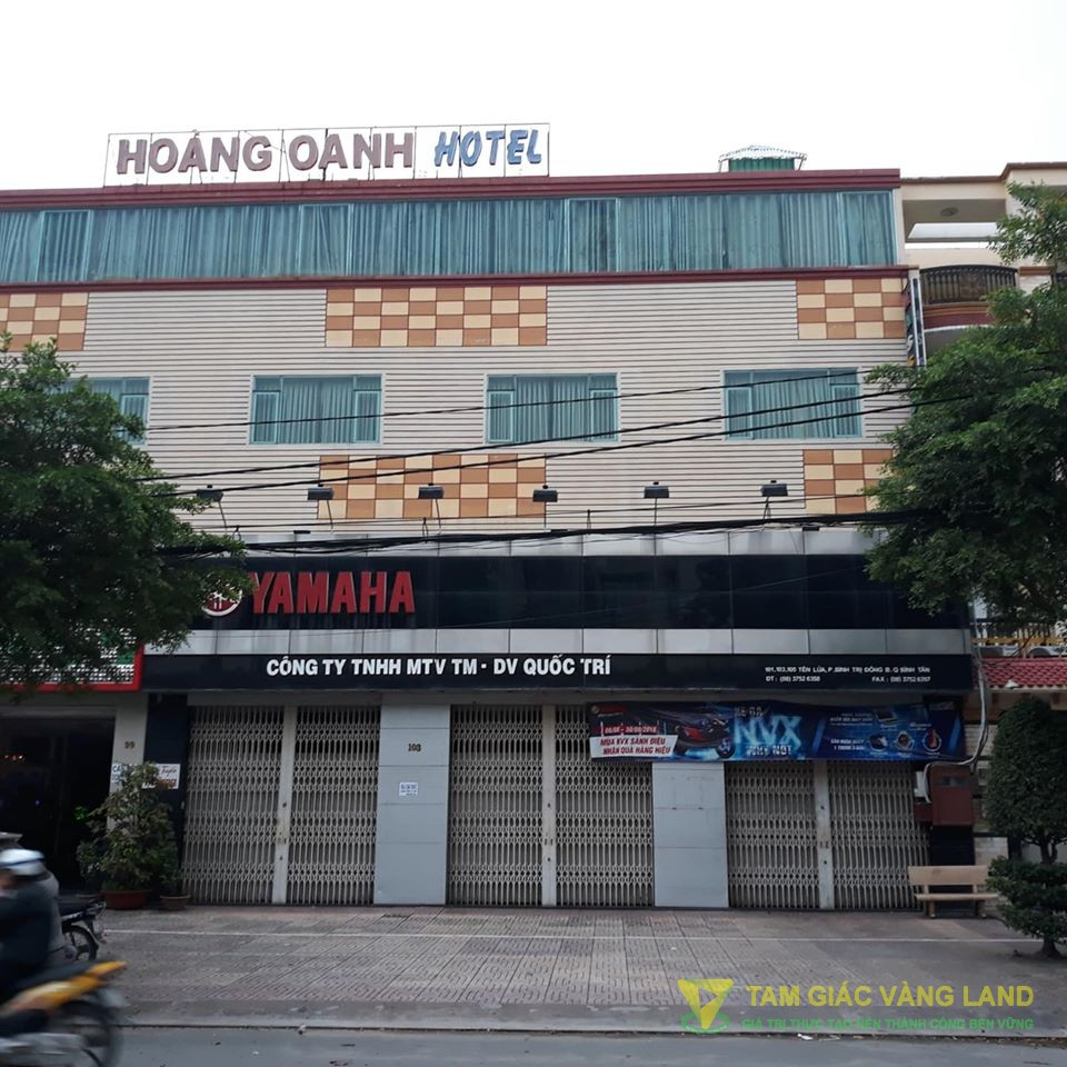 Cho thuê mặt bằng LDR 101-103-105 đường Tên Lửa, Phường Bình Trị Đông B, Quận Bình Tân.