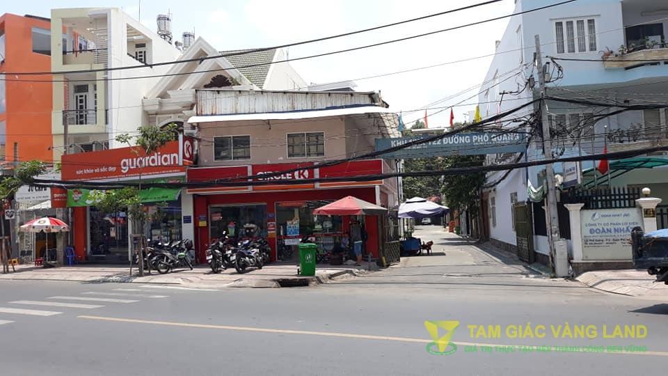 Cho thuê nhà nguyên căn góc 02 mặt tiền số 124 Phổ Quang, Phường 9, Quận Phú Nhuận, khu 5 chung cư cao cấp