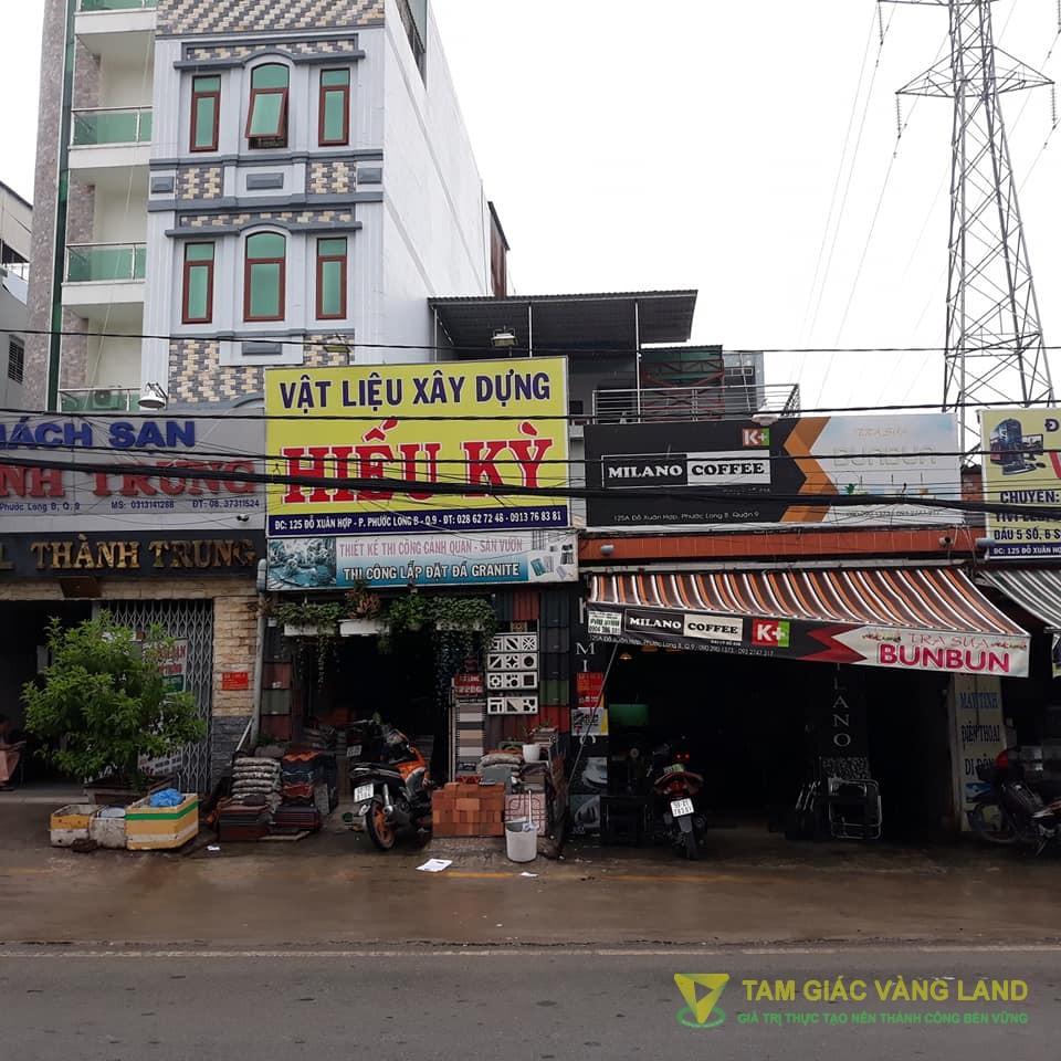 Cho thuê mặt bằng 7x17m 125 Đỗ Xuân Hợp - P.Phước Long B - Q.9