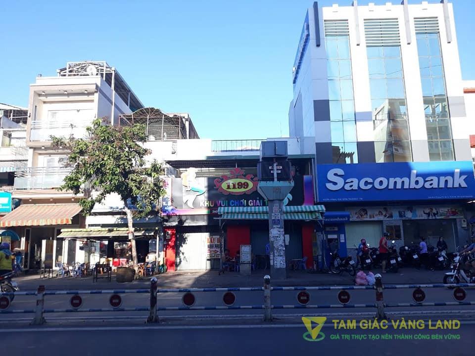 Cho thuê nhà mặt tiền đường Minh Phụng, Phường 2, Quận 11, DT 8.4x25m, 1 trệt 1 lầu, Giá 120 triệu/tháng