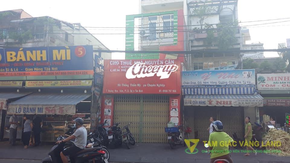 Cho thuê nhà 4x26m 4 tầng số 07 Hoàng Hoa Thám, Phường 13 Quận Tân Bình