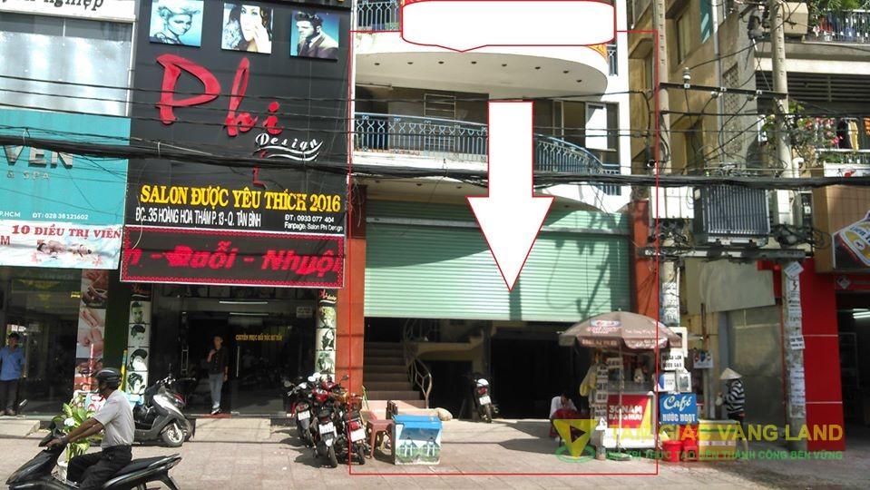 Cho thuê nhà 900m2 số 37 Hoàng Hoa Thám, Phường 13 Quận Tân Bình.