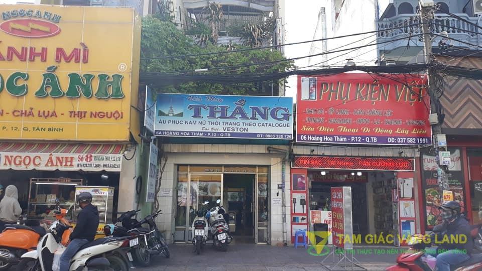 Cho thuê nhà 4.2x25m 4 lầu số 6A Hoàng Hoa Thám, Phường 12 Quận Tân Bình
