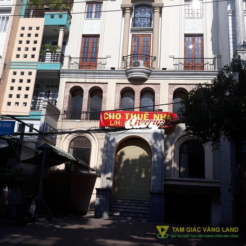 Cho thuê nhà 800m2 số 170 Hoàng Hoa Thám, Phường 12 Quận Tân Bình.