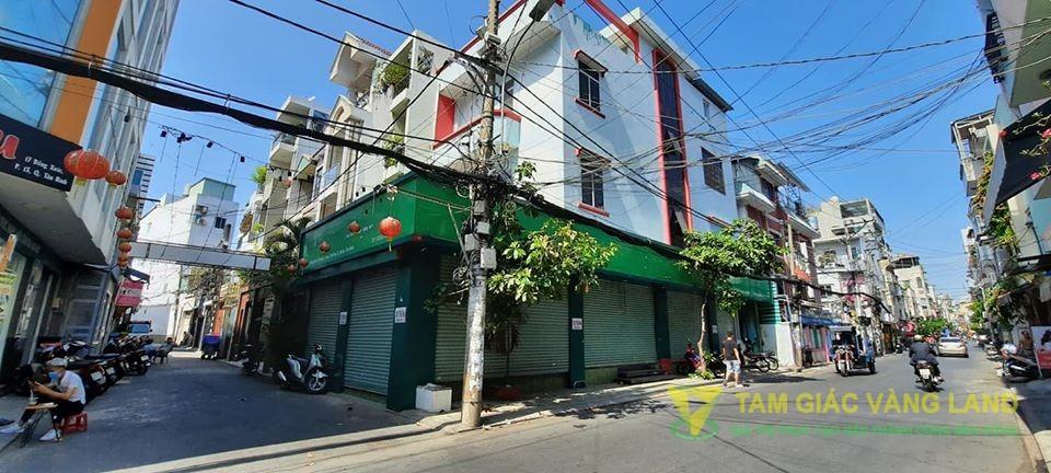 Cho thuê nhà mặt tiền đường Đồng Xoài, Phường 13, Quận Tân Bình, DT 19x7m, 1 trệt 2 lầu, Giá 50 triệu/tháng