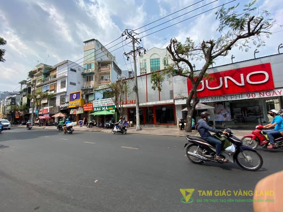 Cho thuê nhà mặt tiền đường Lê Văn Sỹ, Phường 2, Quận Tân Bình, DT 7.5x23m, 1 trệt, Giá 110 triệu/tháng