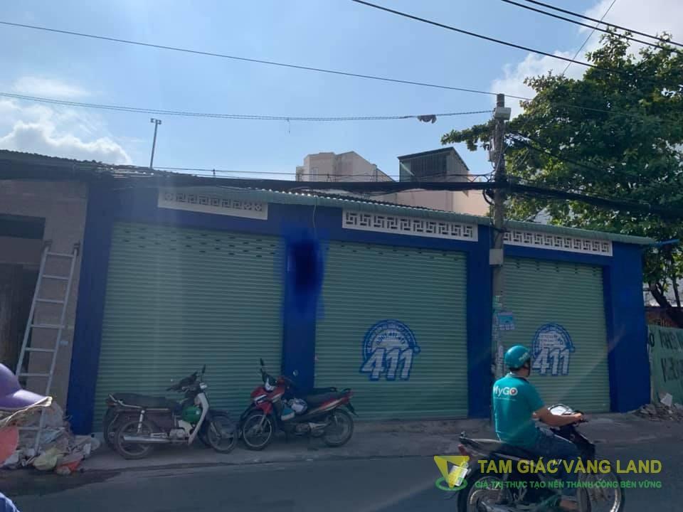 Cho thuê nhà mặt tiền đường 840 - 842 Âu Cơ, Phường 14, Quận Tân Bình, DT 12x24m, 1 trệt, Giá 90 triệu/tháng