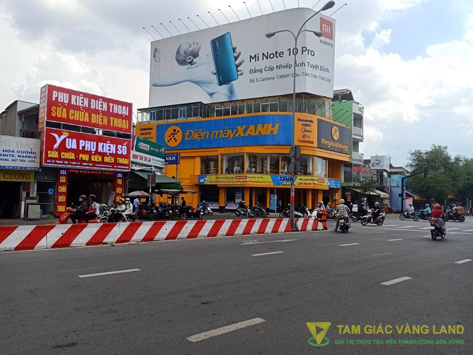 Cho thuê nhà mặt tiền đường Lê Trọng Tấn, Phường Sơn Kỳ, Quận Tân Phú, DT 11x21m, 1 trệt 1 lầu + 1 trệt, Giá 110 triệu/tháng