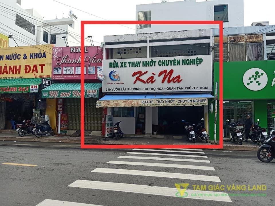 Cho thuê nhà mặt tiền đường Vườn Lài, Phường Phú Thọ Hòa, Quận Tân Phú, DT 6x7m, 1 trệt 1 lầu, Giá 23 triệu/tháng