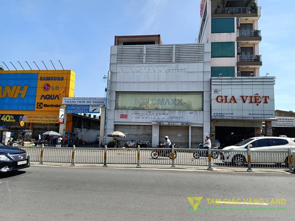 Cho thuê nhà mặt tiền đường Hậu Giang, Phường 12, Quận 6, DT 13x26m, 1 trệt 3 lầu, Giá 10000 usd/tháng