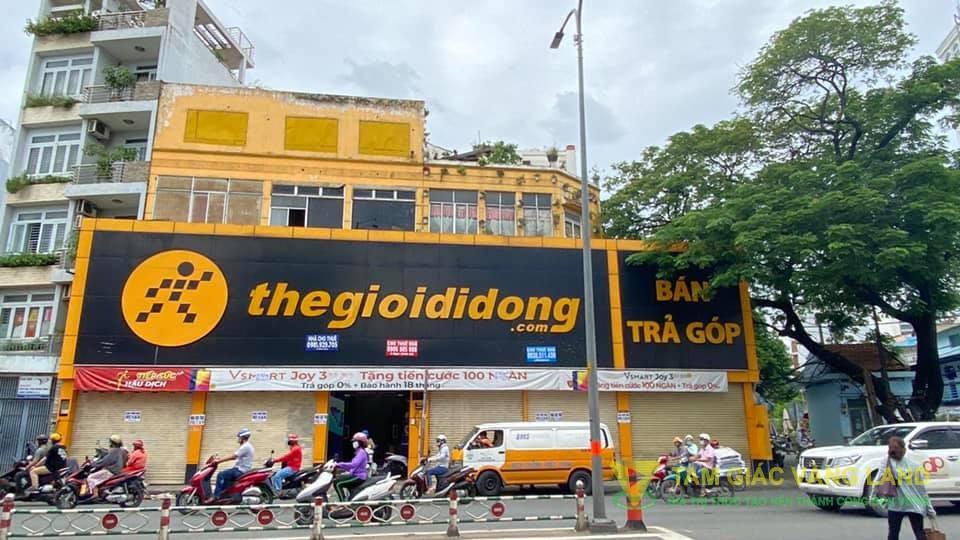 Cho thuê mặt bằng đường 127 - 129 Hoàng Văn Thụ, Phường 8, Quận Phú Nhuận, DT 18.5x10m, Mặt Bằng LĐR, Giá 110 triệu/tháng