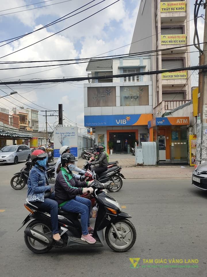 Cho thuê nhà mặt tiền đường Âu Cơ, Phường Tân Sơn Nhì, Quận Tân Phú, DT 8.4x37m, trệt + 2 lầu, Giá 120 triệu/tháng