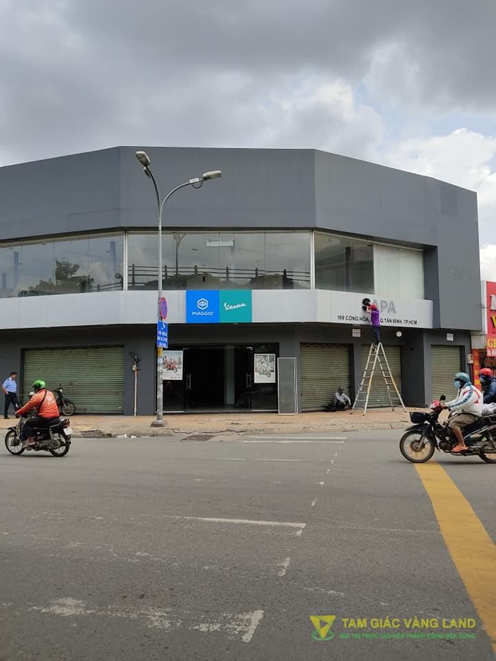 Cho thuê nhà mặt tiền đường cộng hòa, Phường 12, Quận Tân Bình, trệt + 1 lầu, Giá 14000 usd/tháng