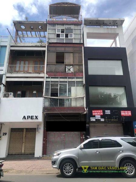 Cho thuê nhà mặt tiền đường Lê Văn Sỹ, Phường 13, Quận Phú Nhuận, DT 4x17.5m, 1 trệt 3 lầu 1 sân thượng, Giá 57 triệu/tháng