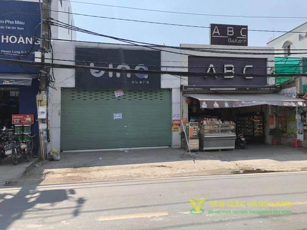 Cho thuê nhà mặt tiền đường Đỗ Xuân Hợp, Phường Phước Long A, Quận 9, DT 7.52x22m, mặt bằng, Giá 60 triệu/tháng
