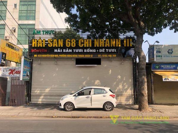 Cần sang nhà mặt tiền đường Nguyễn Văn Quá, Phường Đông Hưng Thuận, Quận 12, DT 10x40m, mặt bằng, Giá 35 triệu/tháng