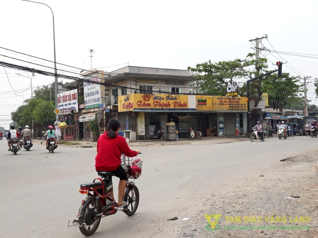 Cho thuê nhà mặt tiền đường Lê Văn Khương, Xã Đông Thạnh, Huyện Hóc Môn, DT 10x11.5m, 1 trệt 1 lầu, Giá 40 triệu/tháng