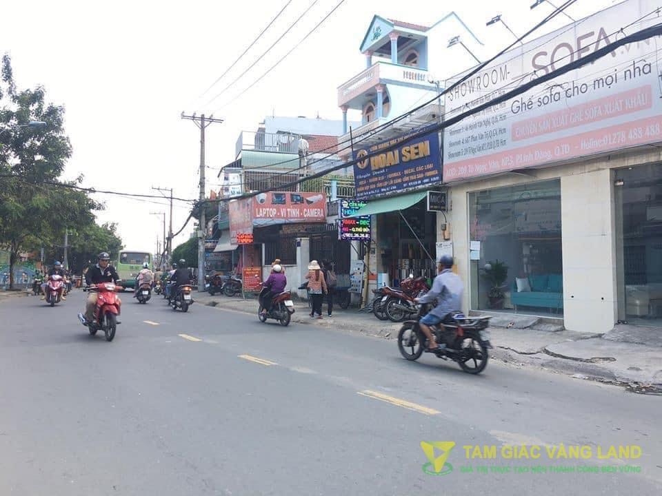 Cho thuê nhà mặt tiền đường Tô Ngọc Vân, Phường Tam Phú, Quận Thủ Đức, DT 7x10m, 1 Trệt, 2 lầu, Giá 25 triệu/tháng