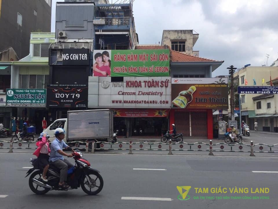 Cho thuê nhà mặt tiền đường Phan Đăng Lưu, Phường 1, Quận Phú Nhuận, DT 8x18m, 1 trệt, 2 lầu, Giá 120 triệu/tháng