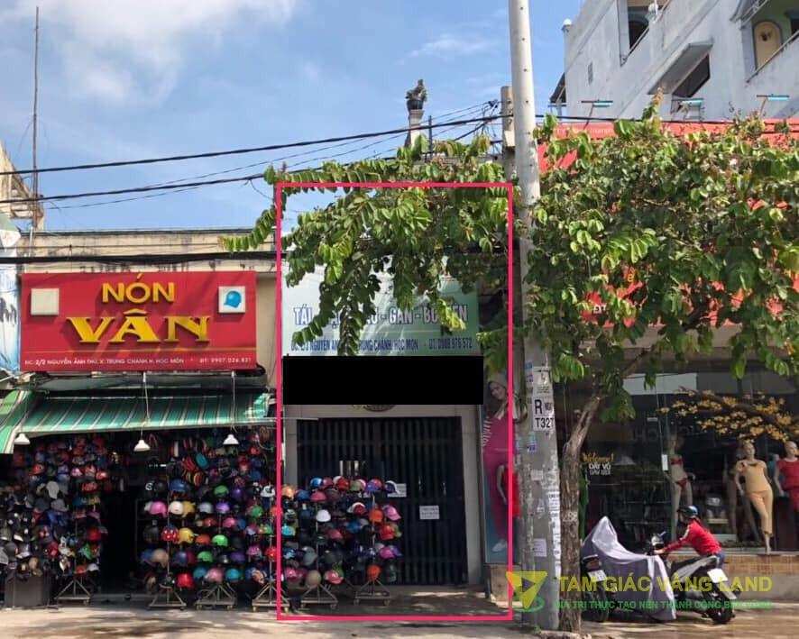 Cho thuê nhà mặt tiền đường Nguyễn Ảnh Thủ, Xã Trung Chánh, Huyện Hóc Môn, DT 3.3x30m, cấp 4, Giá 34 triệu/tháng