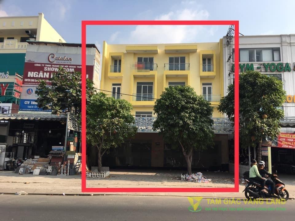 Cho thuê nhà mặt tiền đường Nguyễn Ảnh Thủ, Phường Tân Chánh Hiệp, Quận 12, DT 14x17m, 1 trệt 3 lầu, Giá 80 triệu/tháng