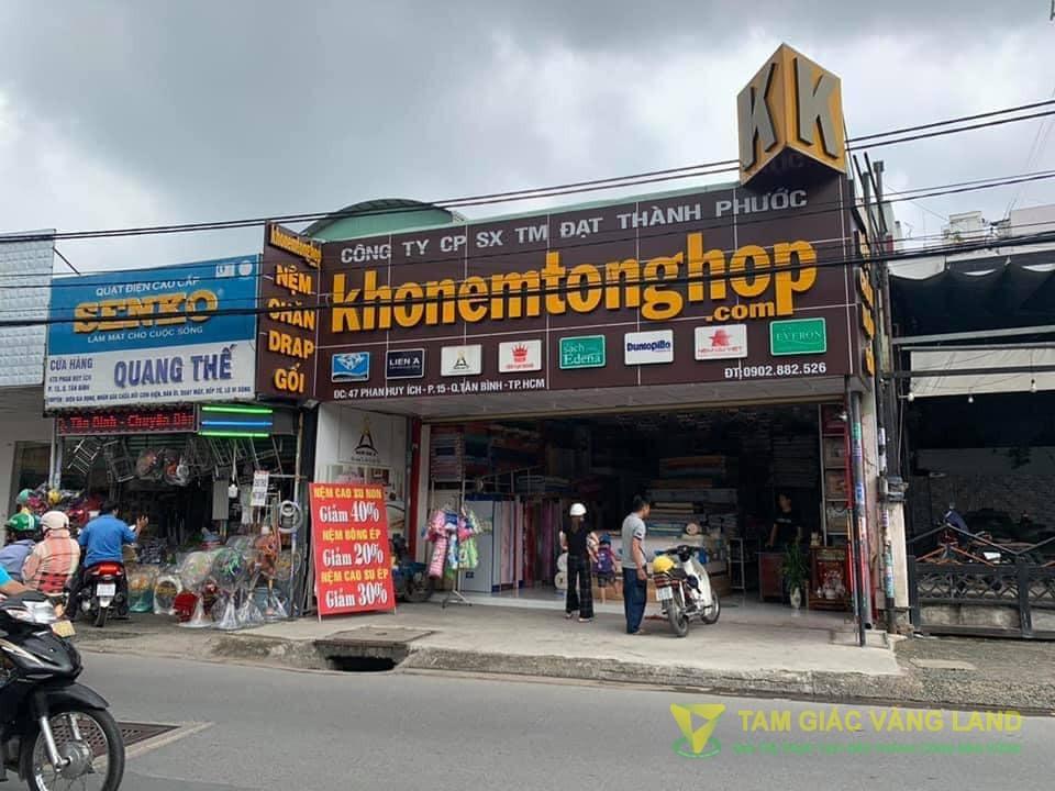 Cho thuê mặt bằng đường Phan Huy Ích, Phường 15, Quận Tân Bình, DT 7x10m, Mặt bằng, Giá 25 triệu/tháng