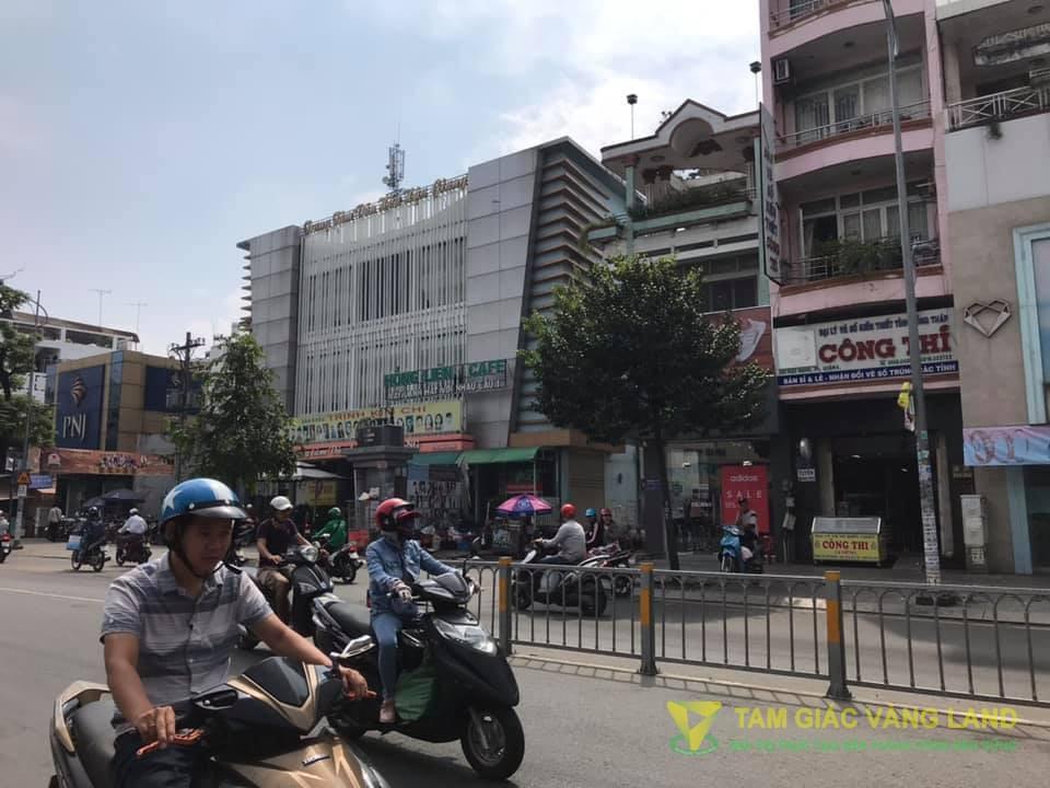 Cho thuê nhà mặt tiền đường Hậu Giang, Phường 5, Quận 6, DT 8x16m, 1 trệt 1 lầu, Giá 135 triệu/tháng