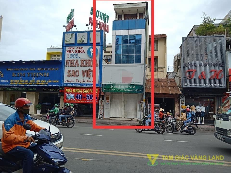 Cho thuê nhà mặt tiền đường Phan Đình Phùng, Phường 2, Quận Phú Nhuận, DT 4x11m, 1 trệt 2 lầu, Giá 50 triệu/tháng