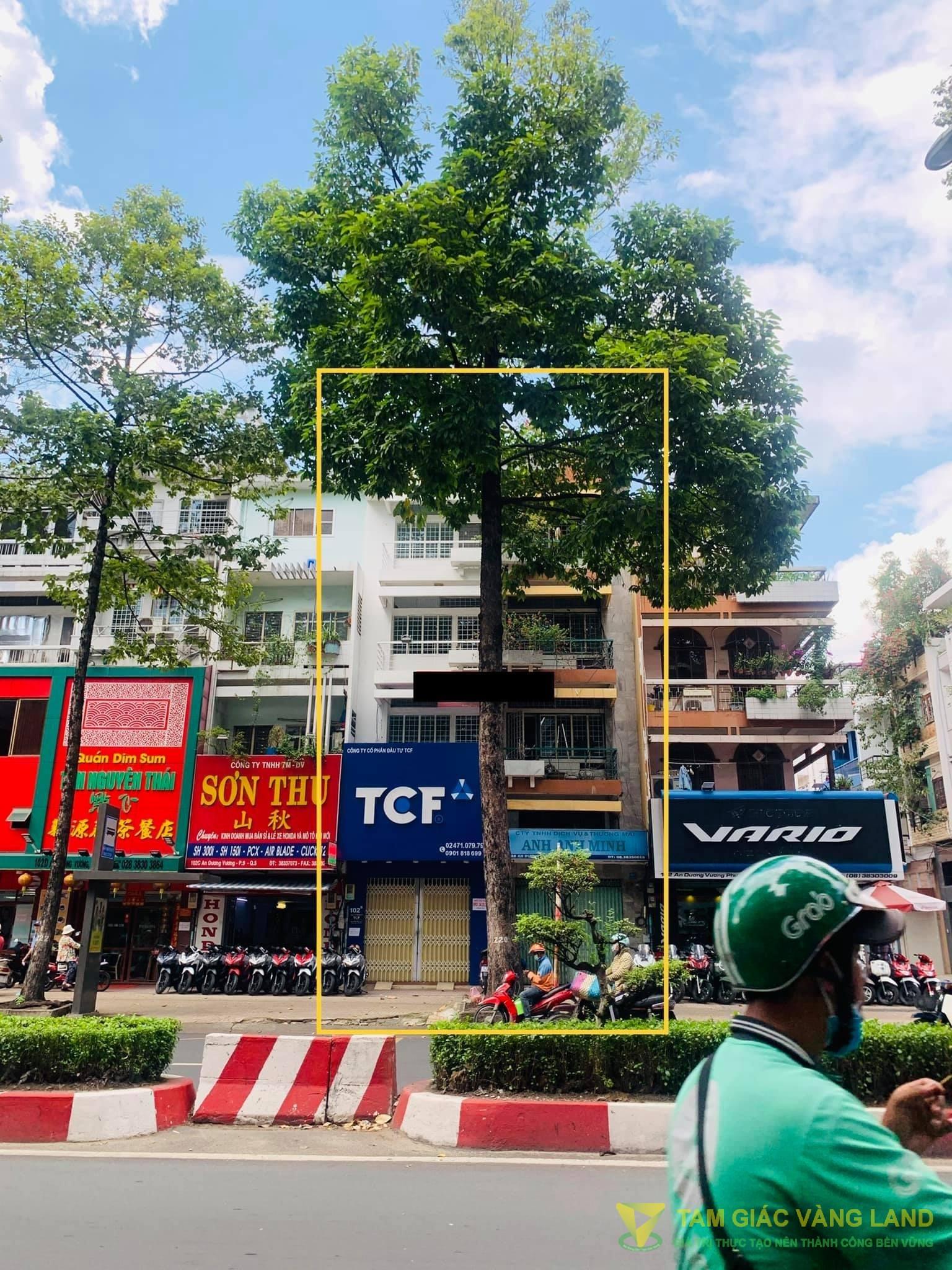 Cho thuê nhà mặt tiền đường An Dương Vương, Phường 9, Quận 5, DT 8.2x16m, 1 trệt 3 lầu, Giá 150 triệu/tháng