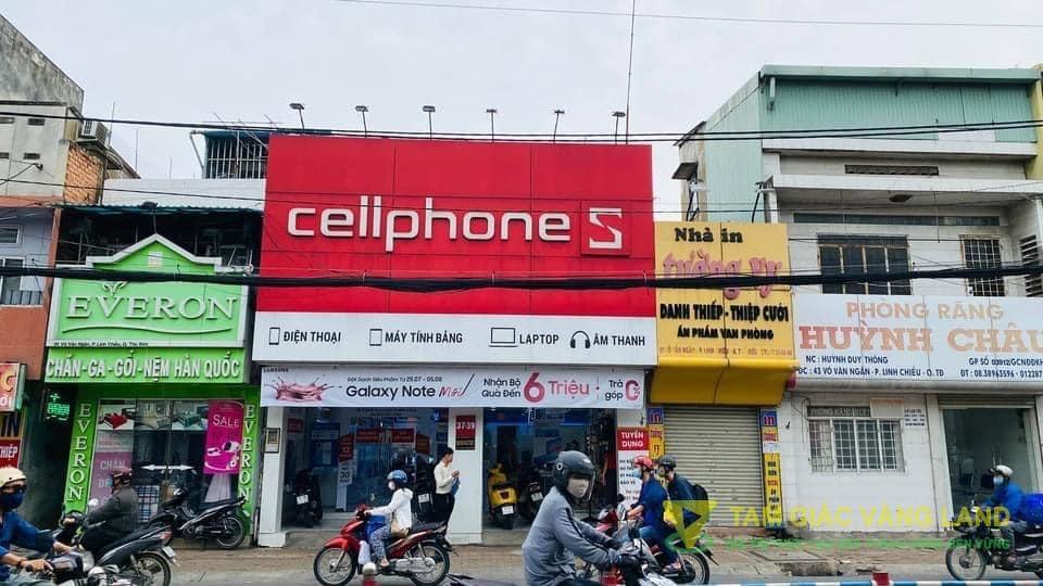 Cho thuê nhà mặt tiền đường Võ Văn Ngân, Phường Bình Thọ, Quận Thủ Đức, DT 8x30m, 1 trệt, 1 lầu, Giá 100 triệu/tháng