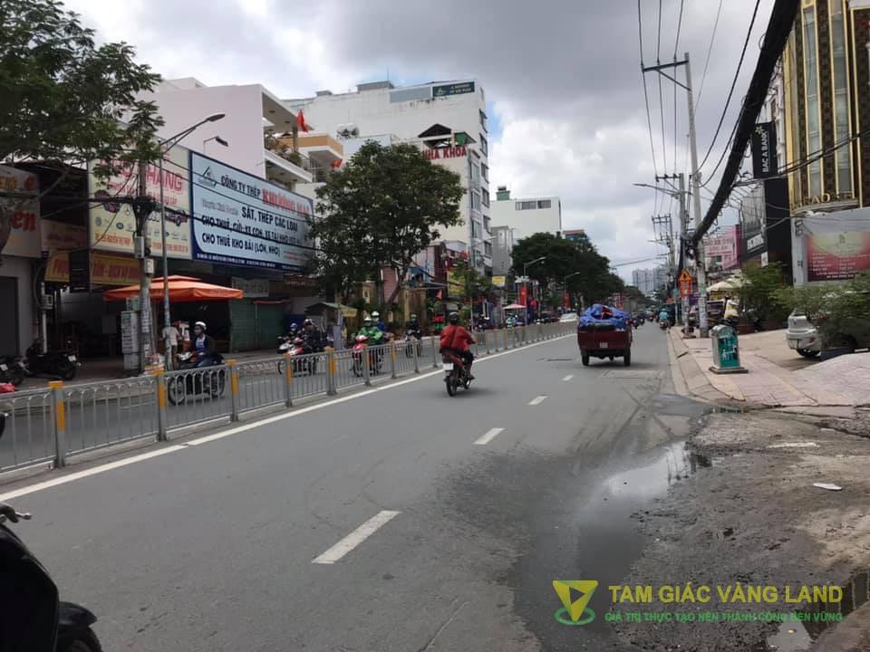 Cho thuê nhà mặt tiền đường Nguyễn Thị Thập, Phường Tân Phú, Quận 7, DT 5x16m, cấp 4, Giá 35 triệu/tháng