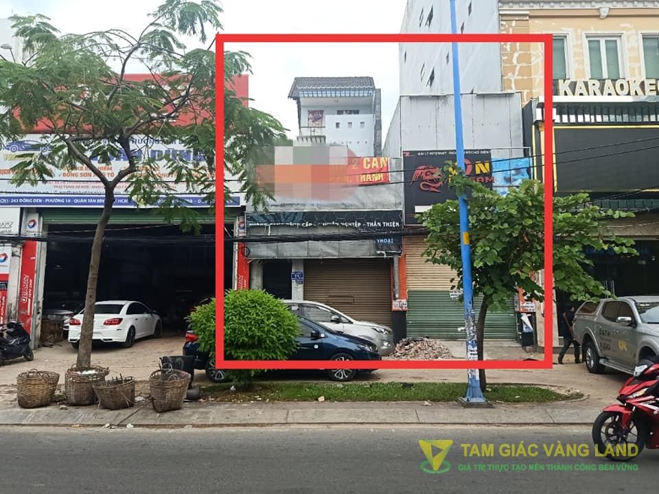 Cho thuê nhà mặt tiền đường Đồng Đen, Phường 10, Quận Tân Bình, DT 9x29m, 1 trệt 2 lầu, Giá 53 triệu/tháng