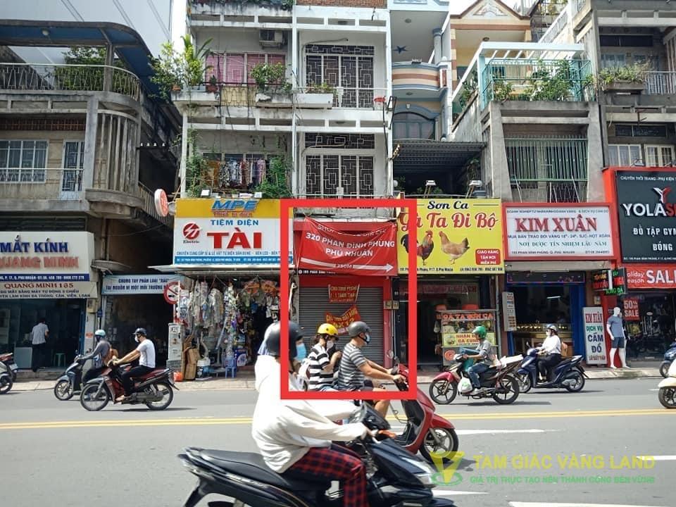 Cho thuê mặt bằng đường Phan Đình Phùng, Phường 17, Quận Phú Nhuận, DT 4x12m, Mặt bằng, Giá 25 triệu/tháng