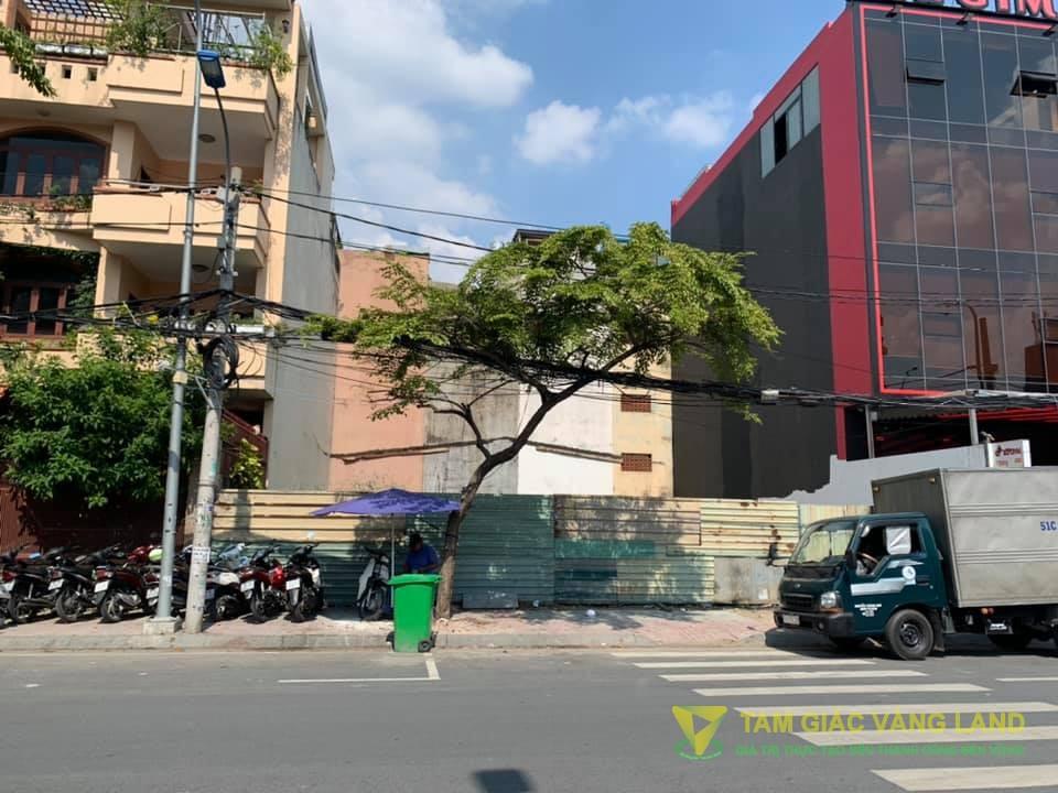 Cho thuê đất mặt tiền C7 đường Nguyễn Giản Thanh, Phường 14, Quận 10, DT 15x20m, Đất, Giá 86 triệu/tháng