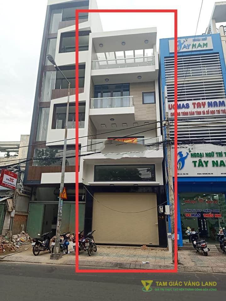 Cho thuê nhà mặt tiền đường Vườn Lài, Phường Phú Thọ Hòa, Quận Tân Phú, DT 5x18m, 1 trệt 1 lửng 3 lầu, Giá 50 triệu/tháng