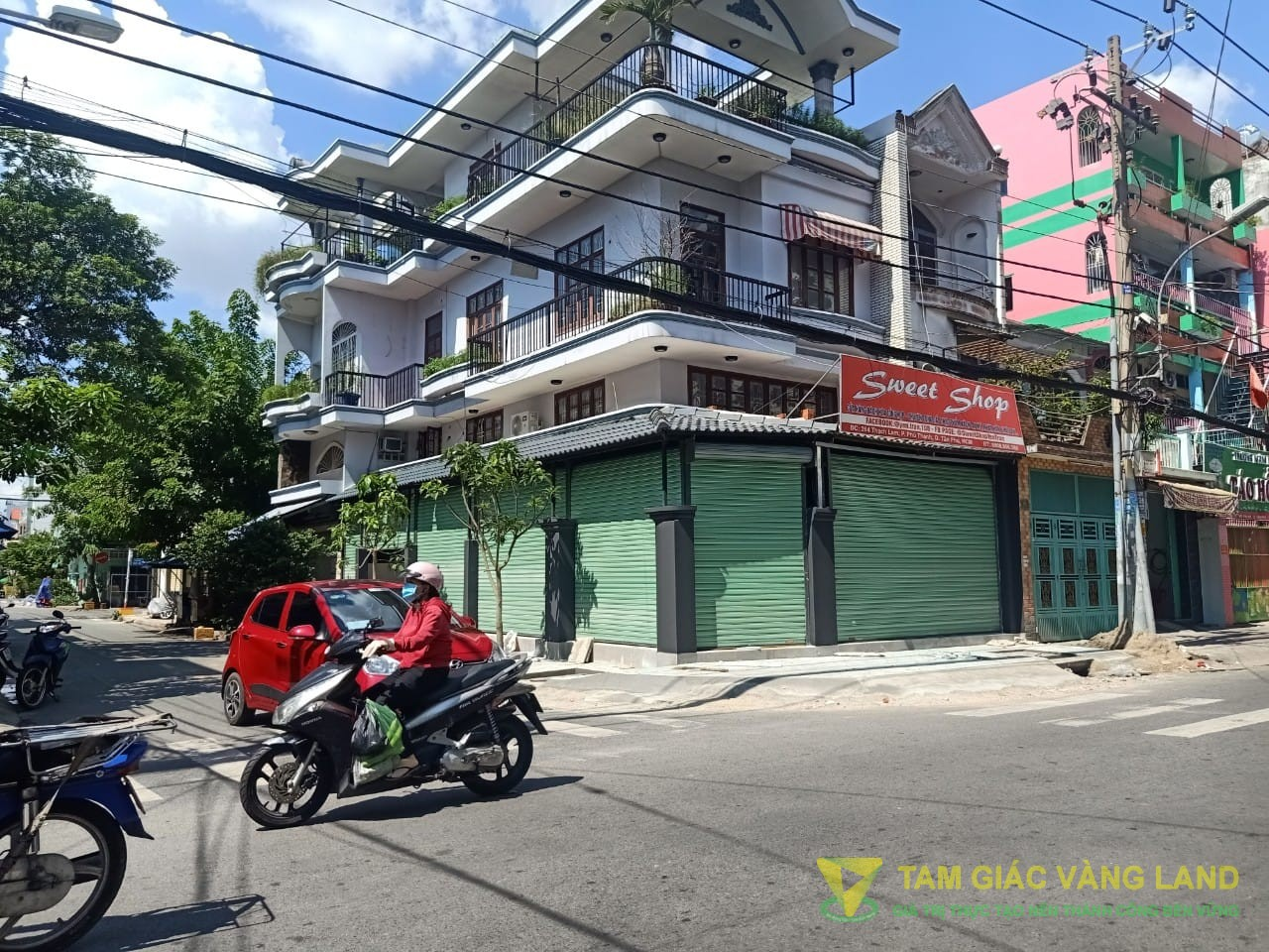 Cho thuê nhà mặt tiền đường Thạch Lam, Phường Phú Thạnh, Quận Tân Phú, DT 7x20m, 1 trệt 2 lầu, Giá 45 triệu/tháng